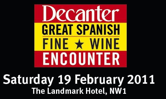 "RUEDA D.O. WAS IN THE DECANTER  ""GREAT SPANISH FINE WINE ENCOUNTER"""