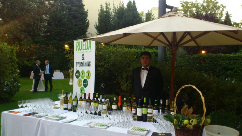 RUEDA WINES IN THE GERMAN EMBASSY