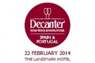 DECANTER FINE WINE ENOCUNTER: Saturday 22 February 2014 - 11am-5pm
