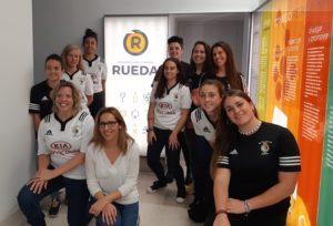 LA D.O. RUEDA RECIBE AL EQUIPO FEMENINO DEL CLUB DE RUGBY EL SALVADOR